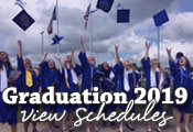 View Graduation 2018 Schedules